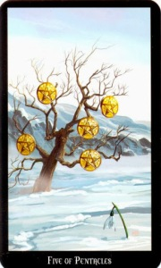 Tarot for Today - 5 of Pentacles - Thursday, May 14, 2020 - Tarot by Lady Dyanna