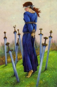 Tarot for Today - 8 of Swords - Wednesday, May 20, 2020 - Tarot by Lady Dyanna
