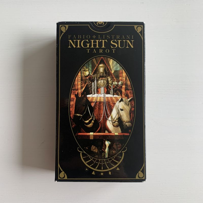 The Night Sun Tarot — Pappa Squirrel
