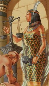 Tarot for Today - Justice - Wednesday, May 13, 2020 - Tarot by Lady Dyanna
