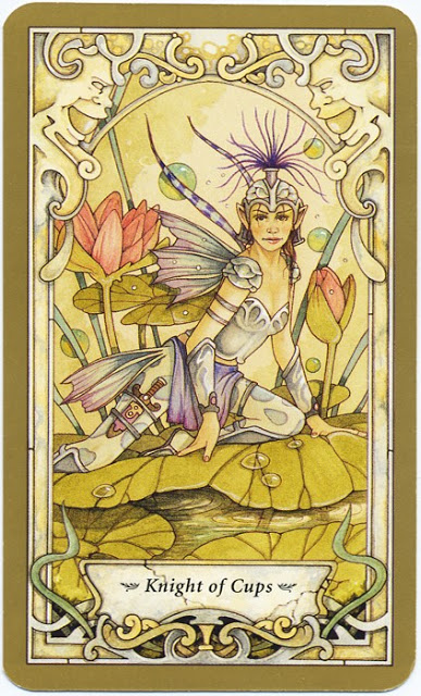 Tarot for Today –  Knight of Cups – Friday, May 29, 2020 – Tarot by Lady Dyanna