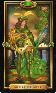 Tarot for Today - Page of Pentacles - Friday, May 8, 2020 - Tarot by Lady Dyanna