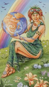 Tarot for Today - The World - Friday, May 22, 2020 - Tarot by Lady Dyanna