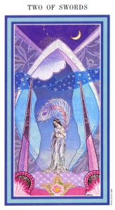 Tarot for Today -2 of Swords - Sunday, June 14, 2020 - Tarot by Lady Dyanna