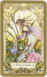 Tarot for Today -7 of Swords - Saturday, June 13, 2020 - Tarot by Lady Dyanna