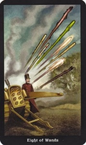 Tarot for Today - 8 of Wands - Thursday , June 18, 2020 - Tarot by Lady Dyanna