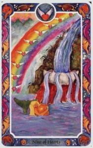 Tarot for Today - 9 of Cups - Wednesday , June 17, 2020 - Tarot by Lady Dyanna