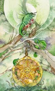 Tarot for Today -  Ace of Pentacles - Sunday, June 7, 2020 - Tarot by Lady Dyanna