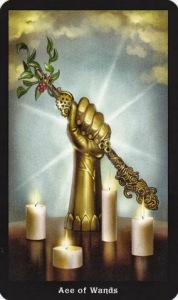 Tarot for Today - Ace of Wands - Monday , June 22, 2020 - Tarot by Lady Dyanna