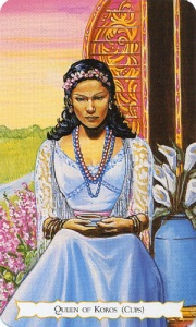Tarot for Today -Queen of Cups - Monday, June 15, 2020 - Tarot by Lady Dyanna