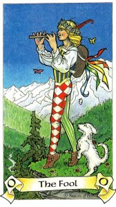 Tarot for Today - The Fool - Monday, June 8, 2020 - Tarot by Lady Dyanna