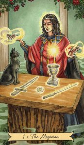 Tarot for Today - The Magician - Friday, June 5, 2020 - Tarot by Lady Dyanna