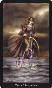 Tarot for Today - Two of Pentacles - Tuesday , July 28, 2020 - Tarot by Lady Dyanna