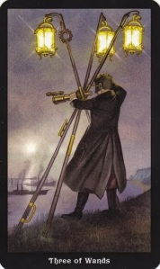 Tarot for Today - 3 of Wands - Saturday , August 1, 2020 - Tarot by Lady Dyanna