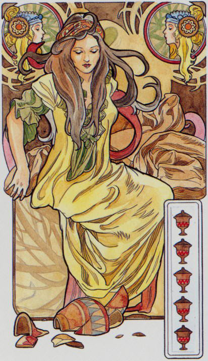 Tarot for Today – 5 of Cups – Friday, July 10, 2020 – Tarot by Lady Dyanna — Ravenhawks' Magickal Mystical Places