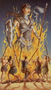 Tarot for Today - 6 of Wands - Friday , July 24, 2020 - Tarot by Lady Dyanna