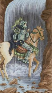 Tarot for Today - Knight of Cups - Wednesday , July 29, 2020 - Tarot by Lady Dyanna