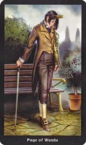 Tarot for Today - Page of Wands - Saturday , July 25, 2020 - Tarot by Lady Dyanna