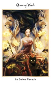 Tarot for Today -Queen of Wands - Sunday , July 19, 2020 - Tarot by Lady Dyanna