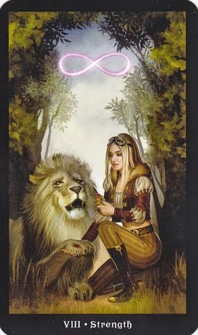 Tarot for Today – Strength – Friday , July 3, 2020 – Tarot by Lady Dyanna