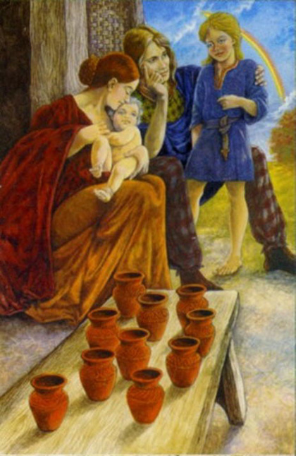 Tarot for Today – 10 of Cups – Friday, August 7, 2020 – Tarot by Lady Dyanna