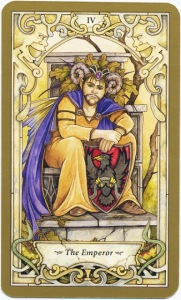 Tarot for Today - The Emperor - Saturday, August 15, 2020 - Tarot by Lady Dyanna