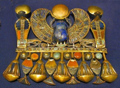 Scarab pectoral belonging to Tutankhamun Wikipedia