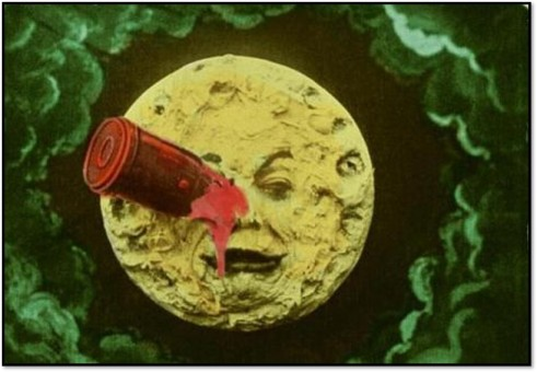 Trip to the Moon, film 1902, Wikimedia Commons
