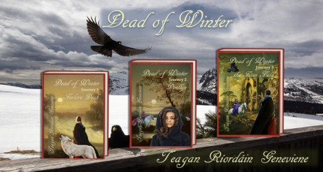 Dead of Winter promotional image by Teagan R. Geneviene