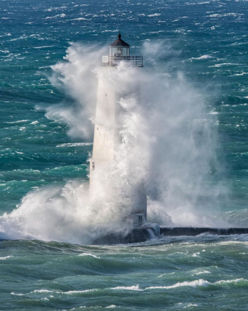 Frankfort Light Dream Shot — Michigan in Pictures